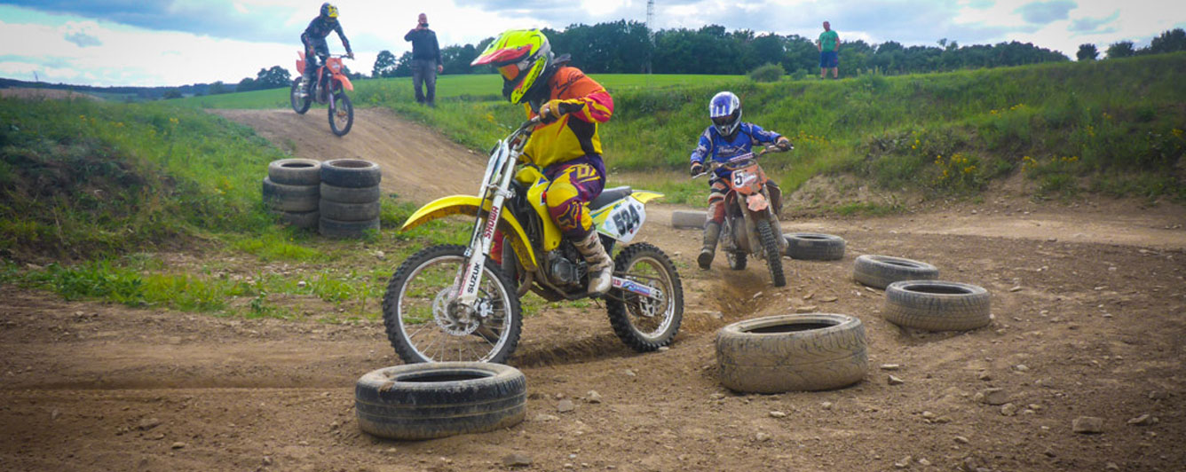 Kinder Motocross Training